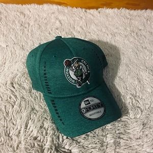 New Era Green Celtics Adjustable Hat